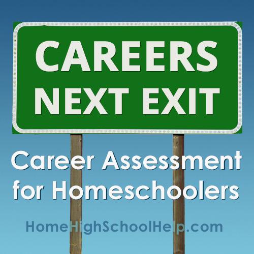 Career Assessment for Homeschoolers